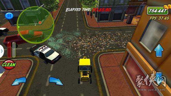 城市垃圾清洁工