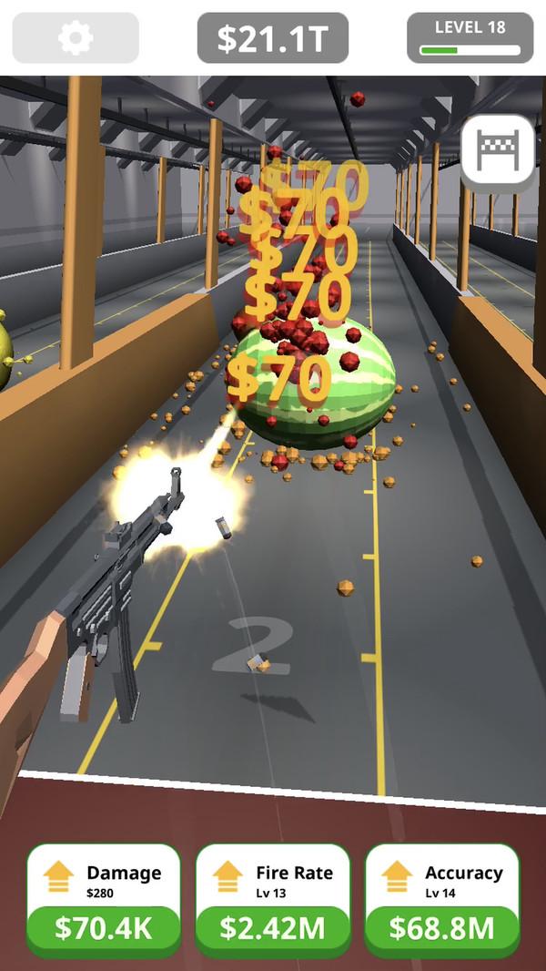 水果射击场截图