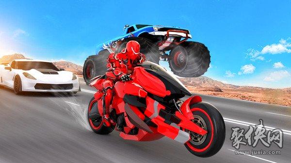 未来摩托机器人