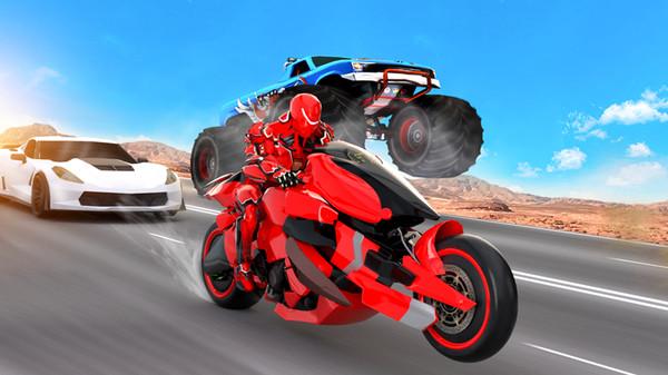 未来摩托机器人截图