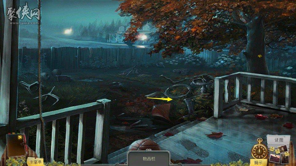 《乌鸦森林之谜1:枫叶溪幽灵》完整图文攻略第三章3