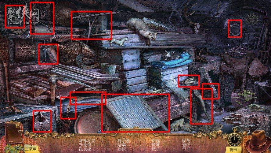 《乌鸦森林之谜1枫叶溪幽灵》特典昔日幽灵攻略第一章1