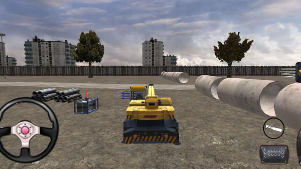 大型起重机操作模拟器截图
