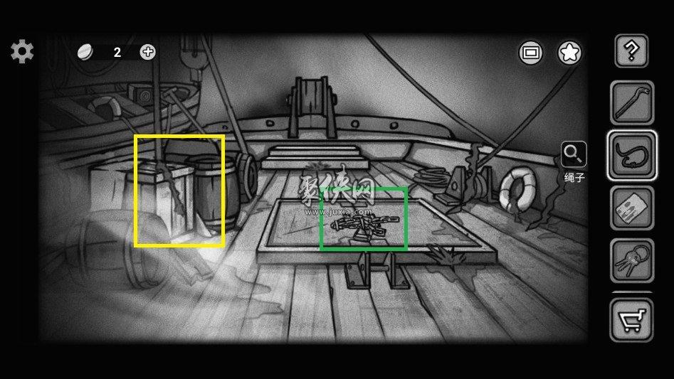 《诡船谜案2远洋禁地》图文攻略第三部分