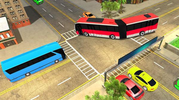 豪华巴士停车场模拟器2019截图
