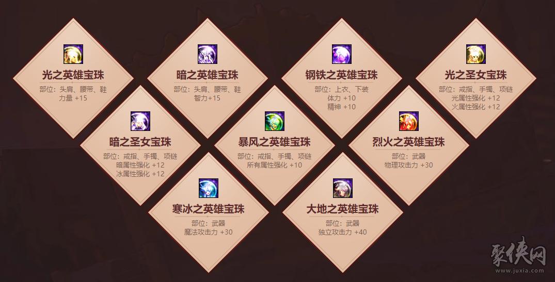 DNF2020年春节套宝珠介绍 附魔宝珠属性介绍