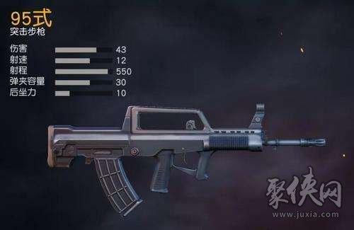 荒野行动95式轻机枪伤害详情介绍