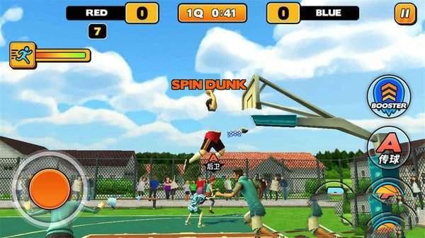 燃爆的篮球截图
