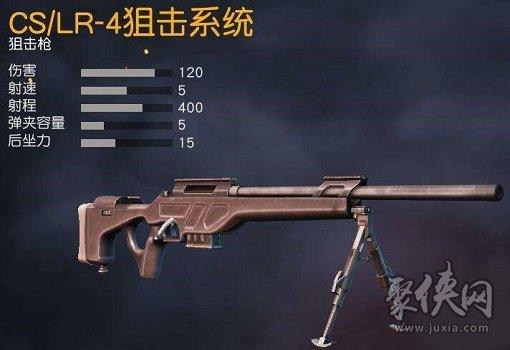 荒野行动CSLR4狙击枪伤害详情介绍