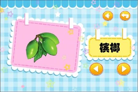 儿童宝宝学水果截图