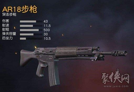 荒野行动AR18步枪基本情报介绍
