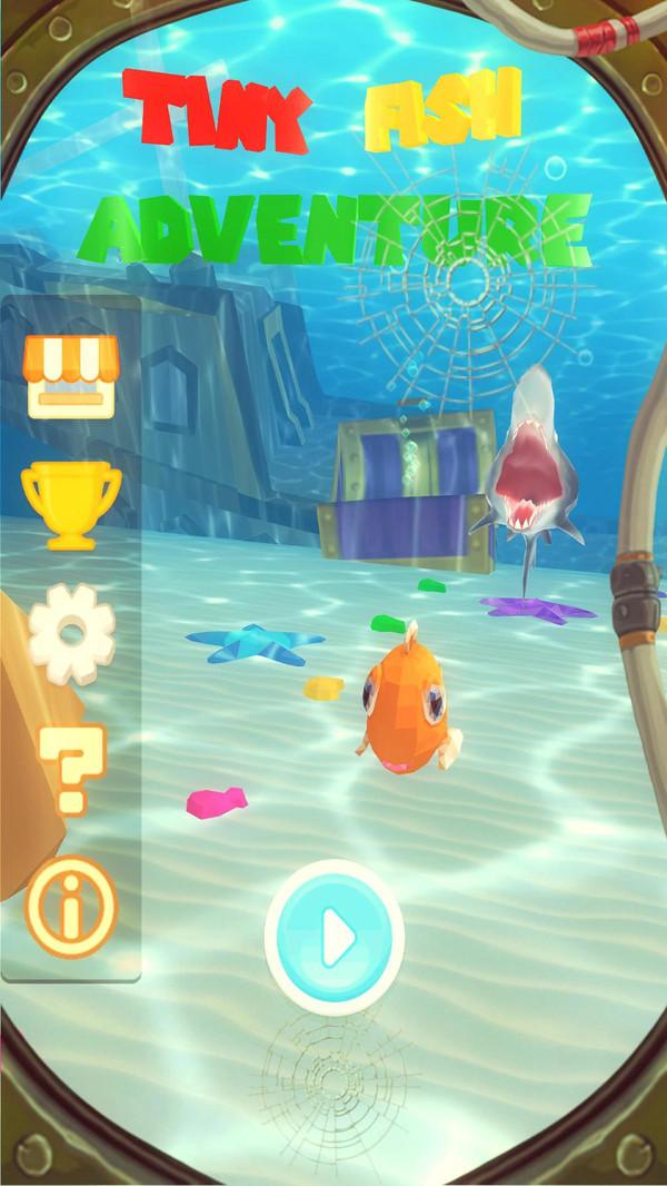 小鱼历险记截图