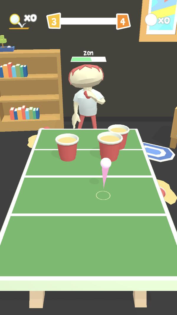 派对乒乓球3D截图