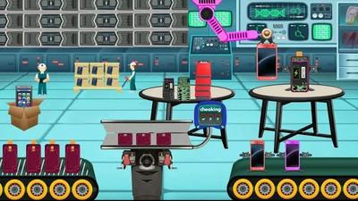 手机制造工厂截图