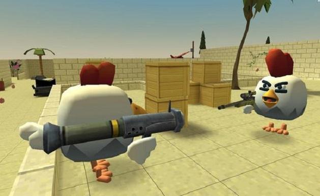 公鸡交火截图
