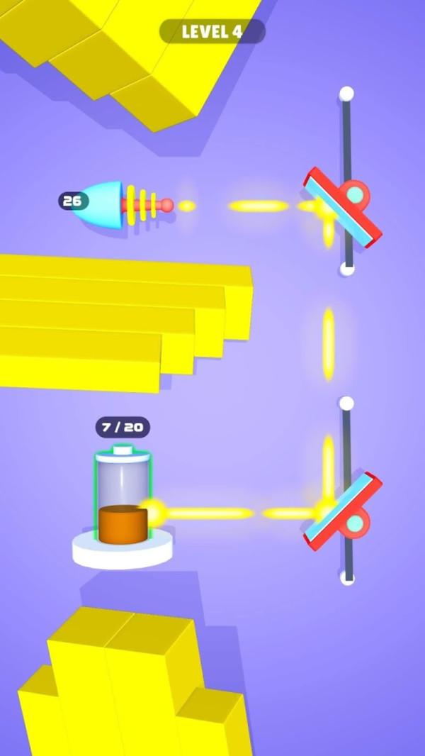 激光反射截图