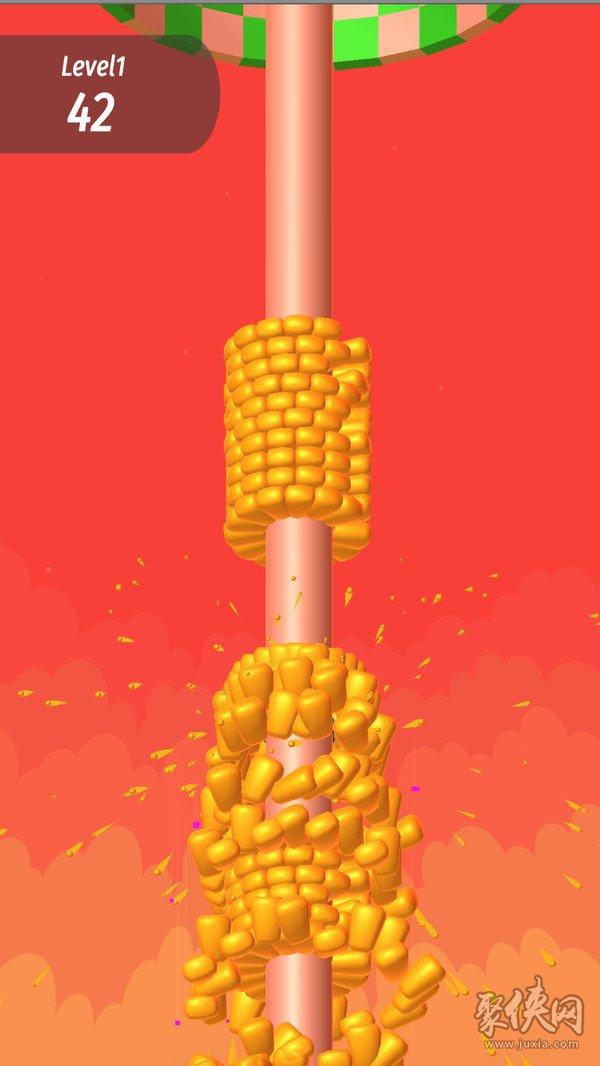 收割玉米机