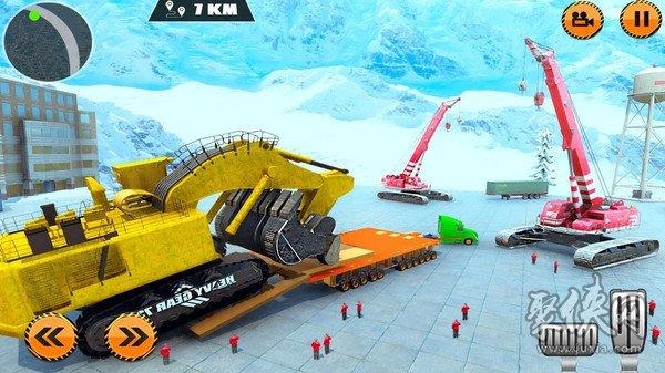 重型货物拖车驾驶模拟