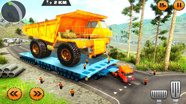 重型货物拖车驾驶模拟截图