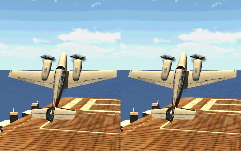 飞行模拟VR截图