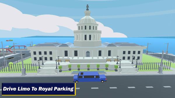 现代城市停车场截图