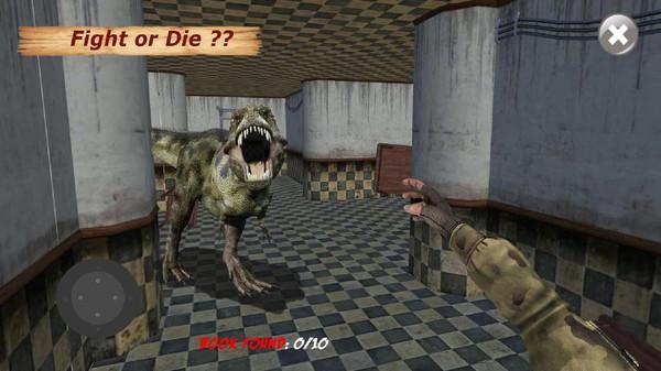 实验室恐龙模拟截图