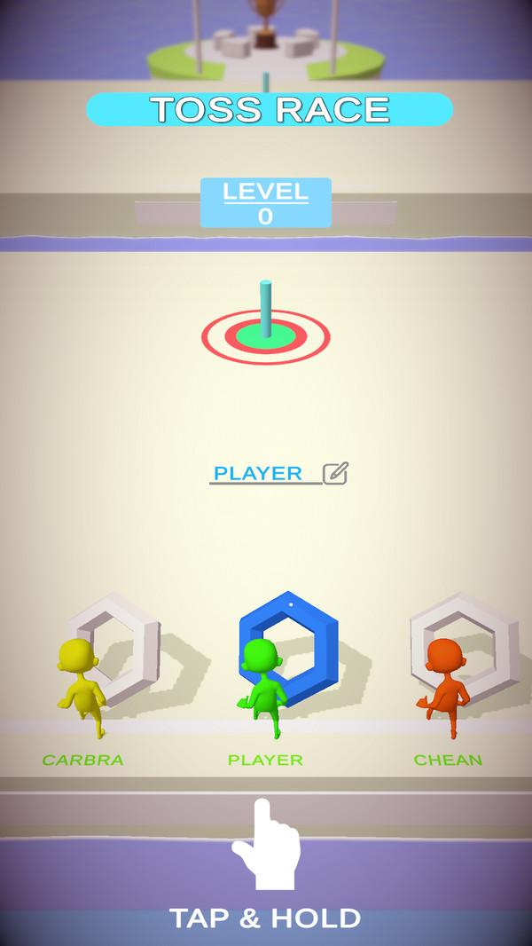 投掷比赛截图