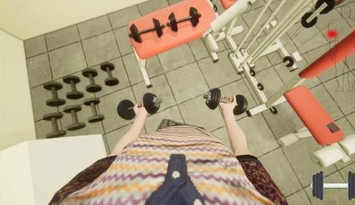 健身模拟器截图