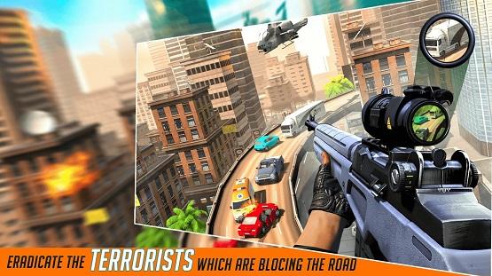 城市狙击枪射击截图