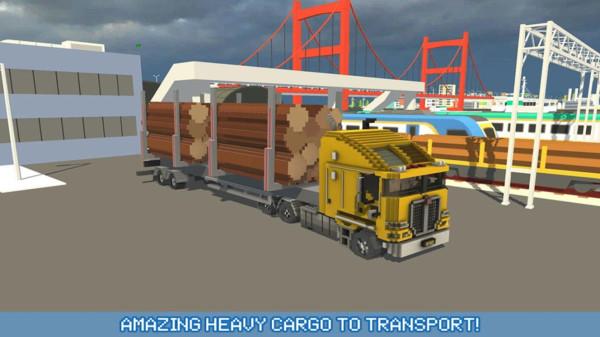 方块卡车:城市交通截图