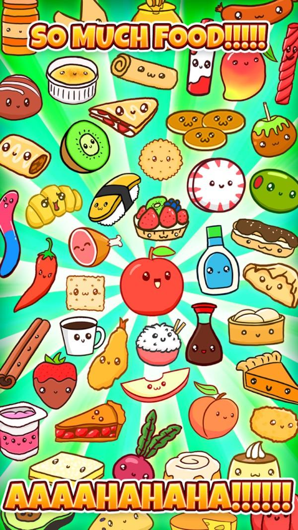 可爱的食物们截图