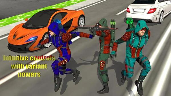绿色箭头:射箭刺客游戏截图