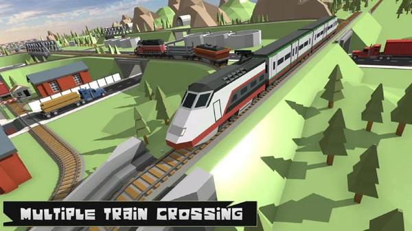 地铁火车模拟截图
