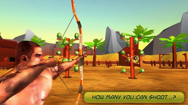 西瓜射击:射箭游戏截图
