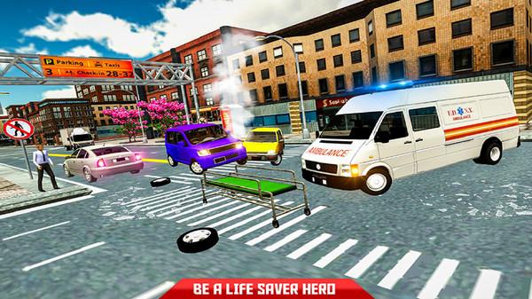 救护车救援模拟器截图