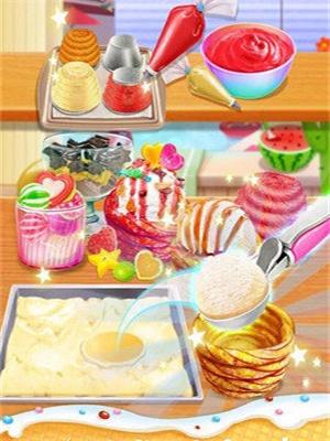彩虹杯形蛋糕截图