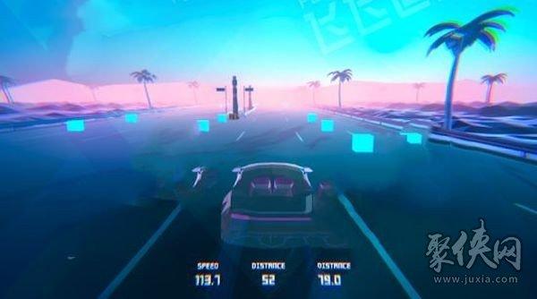 霓虹超级跑车