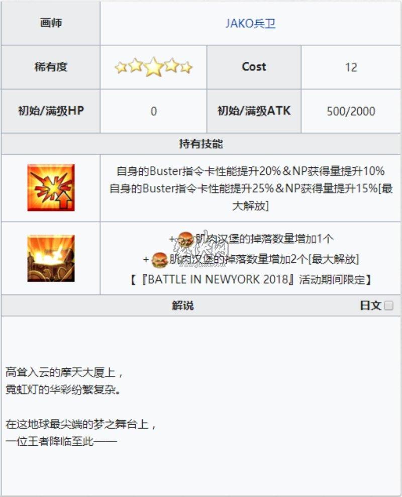 fgo五星礼装gligameshinny介绍!
