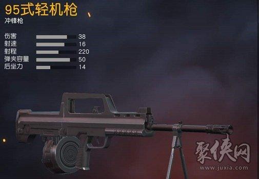 荒野行动95型轻机枪与MK60怎么选