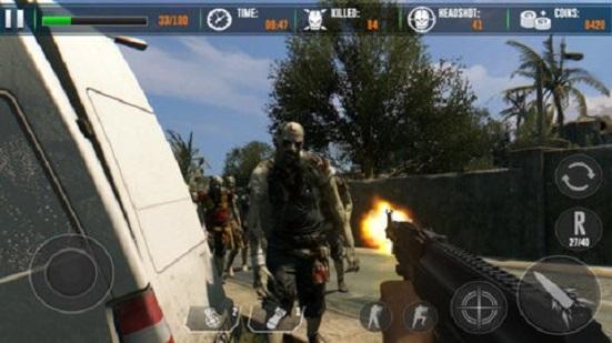 僵尸猎手:死亡射击3D截图