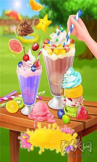 冰淇淋苏打
