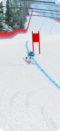 世界杯滑雪比赛截图