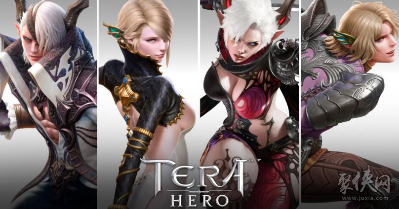 TERA手游版TERA hero公布12个新角色
