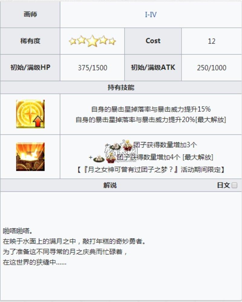 fgo五星礼装月光祝典介绍!