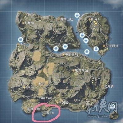荒野行动小群岛带怎么玩儿 小群岛带攻略详解