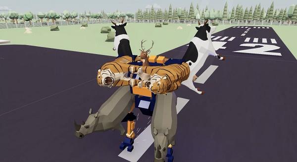 非常普通的鹿模拟器截图