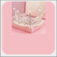 粉色皇冠少女心壁纸