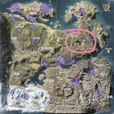 荒野行动采石场攻略详情介绍