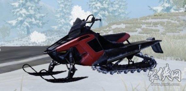 荒野行动载具雪地车详情分析介绍