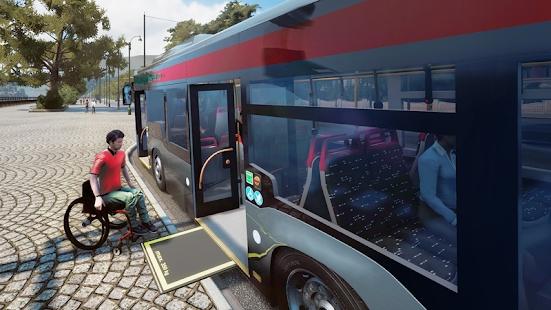 城市客车交通模拟器2020截图